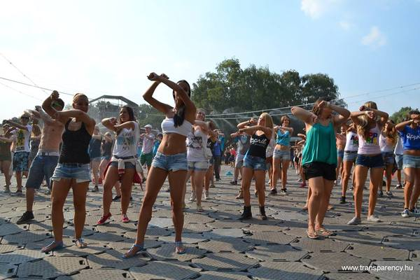 Dance Against Corruption - TI at the Sziget Festival